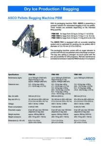 ASCO Pellets Bagging Machine PBM cover