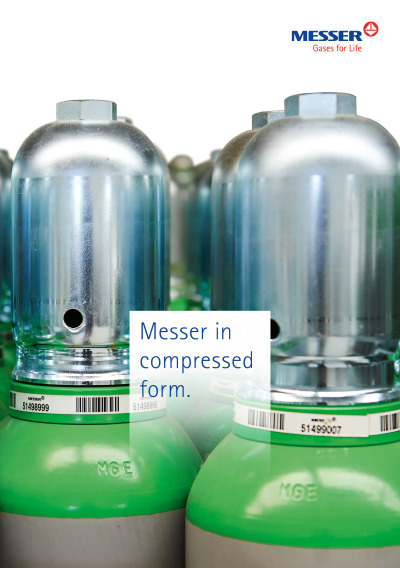 Messer in compressed form cover