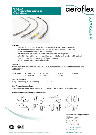 High-Pressure-Hose-Technical-data-sheet cover